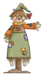 Fall Fun With This Cute Autumn Scarecrow Clipart To Put A Smile On The