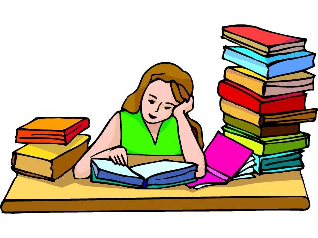 Girl Studying   Clipart Panda   Free Clipart Images