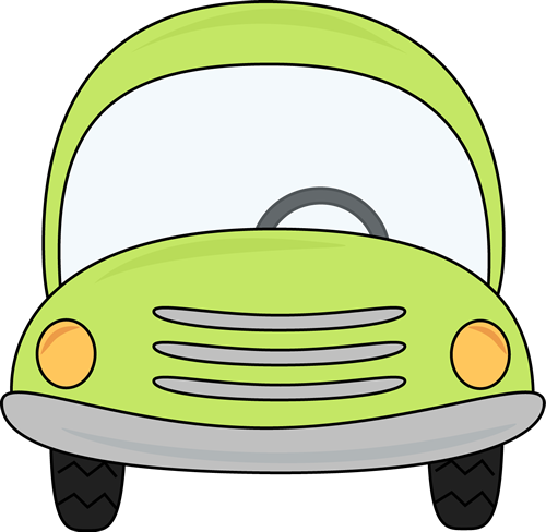 Green Car Clip Art   Green Car Image