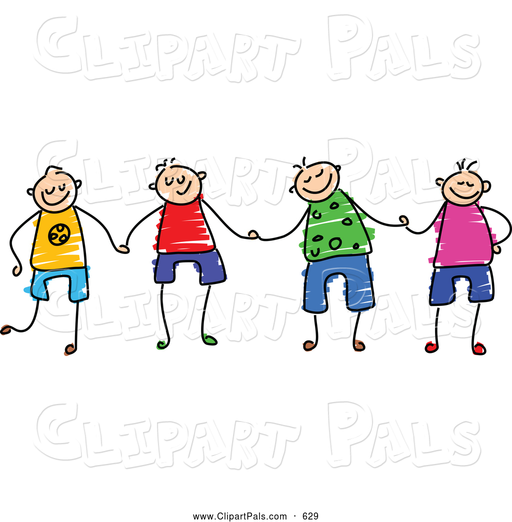 Group Of Friends Having Fun Clipart Pal Clipart Of A Group Of 4 Happy