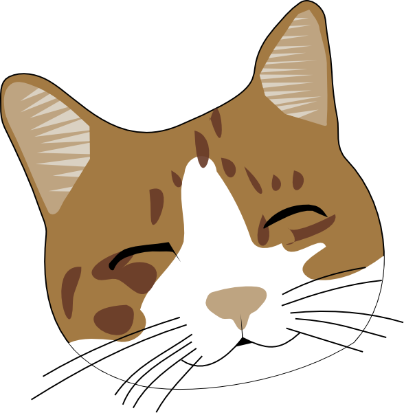 happy-cat-face-clip-art-at-clker-com-vector-clip-art-online-royalty ...