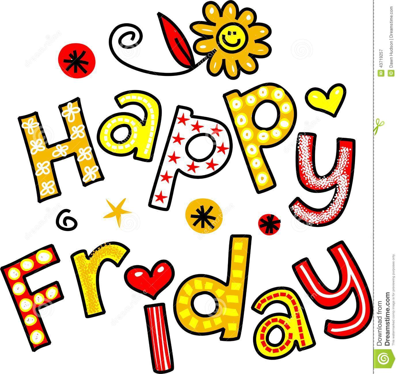 Happy Friday Animated Clipart - Clipart Kid