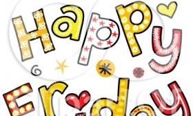 Clip Art Happy Friday Clip Art happy friday clipart kid item 4