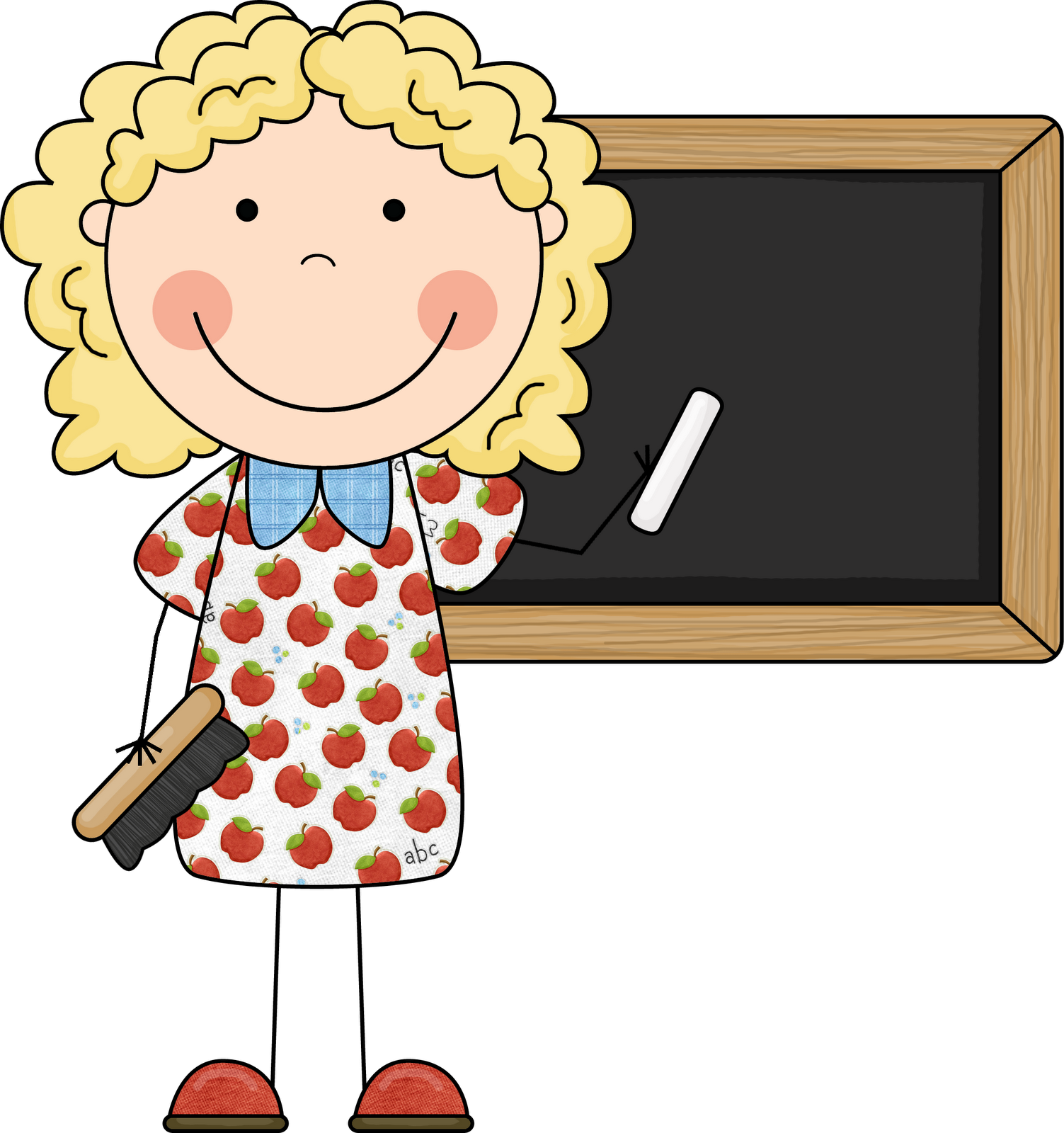 Kindergarten Teacher Clip Art