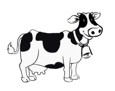 Dairy Cow Clipart - Clipart Kid