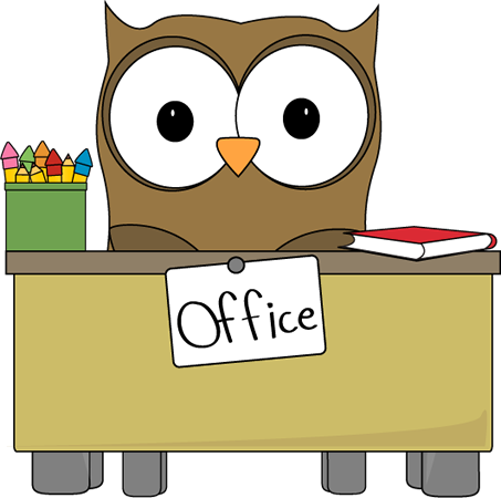 Owl Office Assistant Clip Art   Owl Office Assistant Vector Image