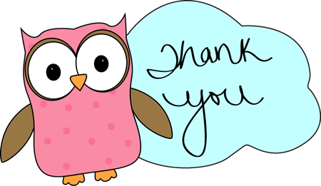 Owl Thank You Image   Owl Thank You Clip Art
