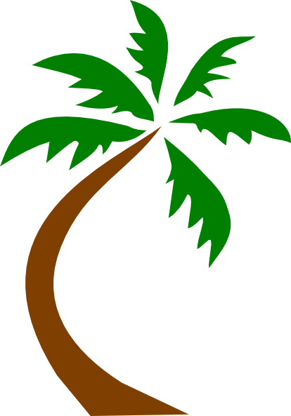 Clip Art Palm Trees Clipart black palm tree clipart kid coconut panda free images