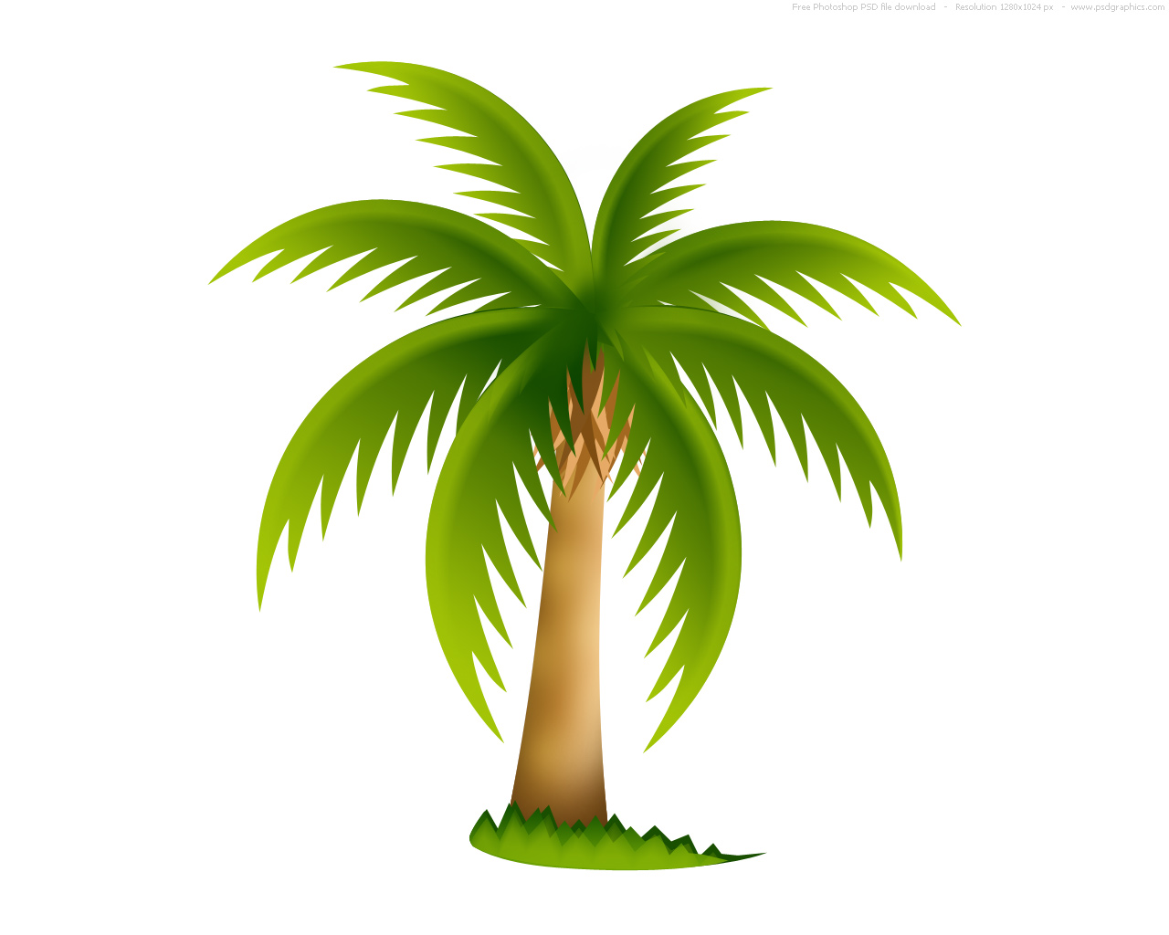 Palm Tree   Free Images At Clker Com   Vector Clip Art Online Royalty