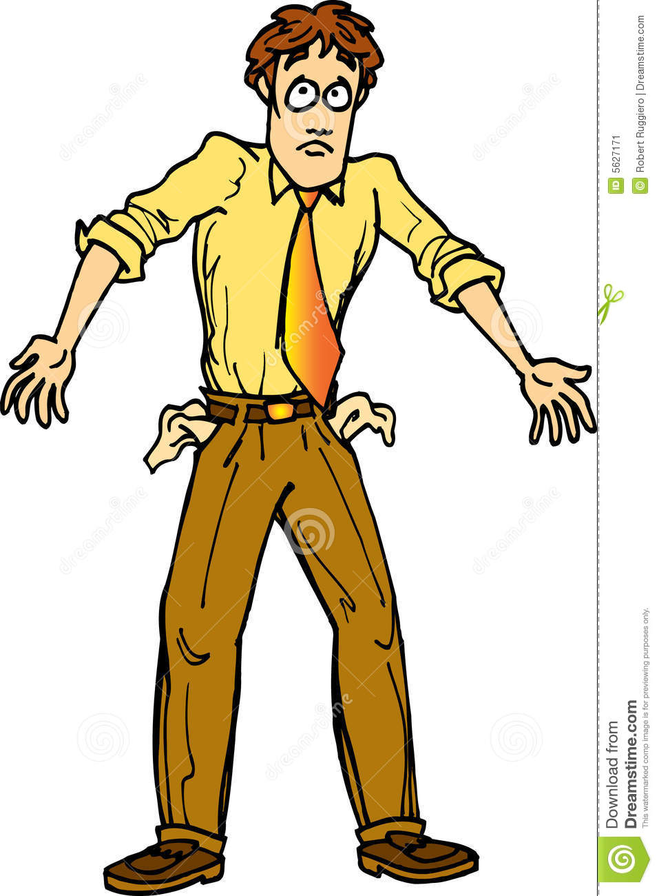 Poor People Clipart Poor Man With Pockets Out