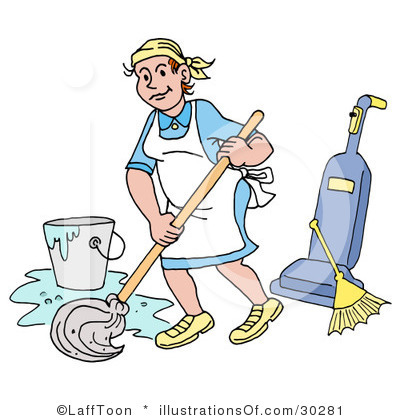 Royalty Free Cleaning Clipart Illustration 30281 Jpg