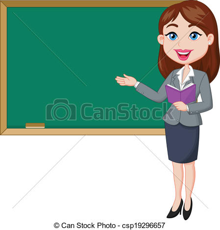 Black Woman Teacher Clipart - Clipart Kid