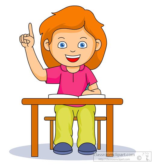 Student Cartoon Clipart - Clipart Kid