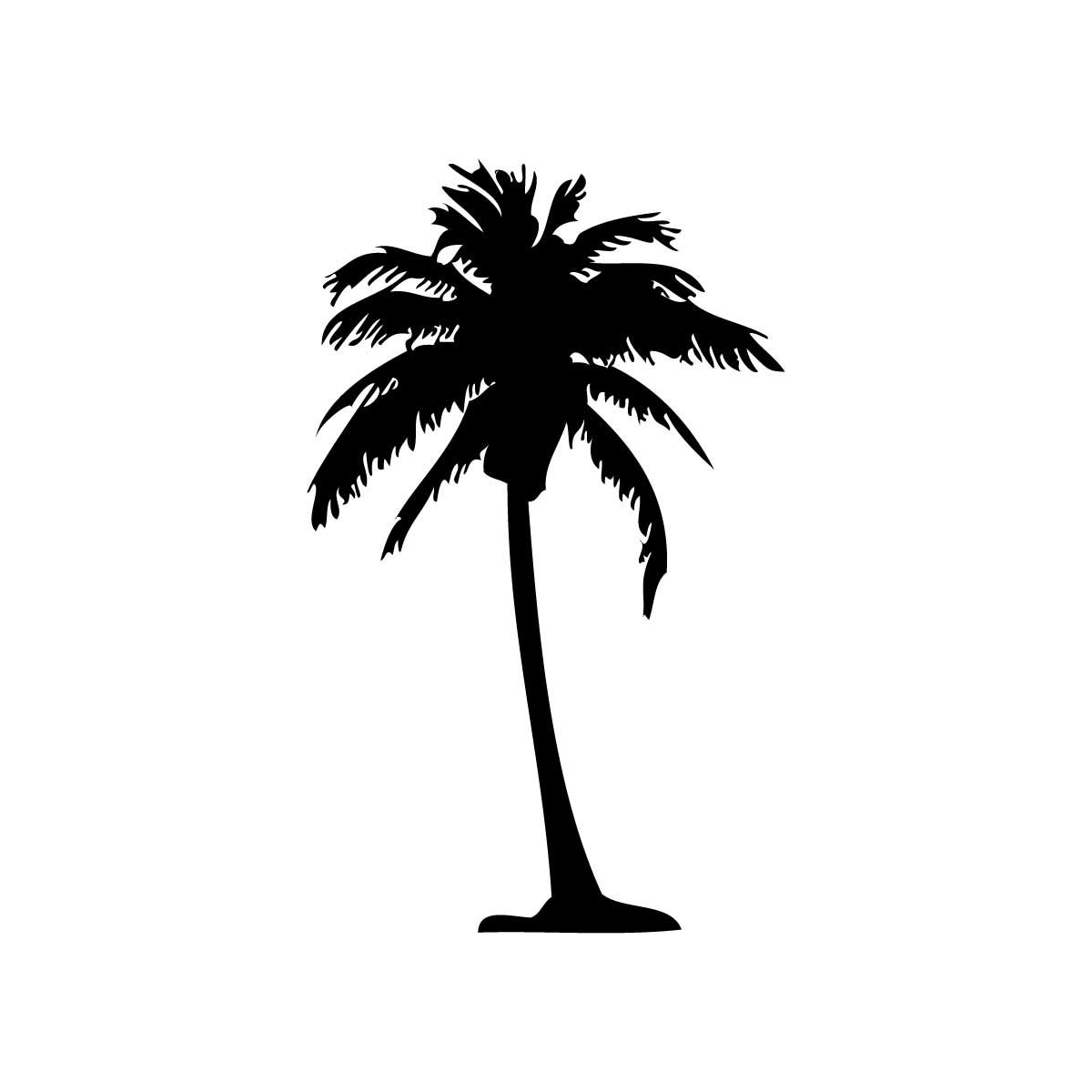Coconut Tree Silhouette Clipart - Clipart Kid