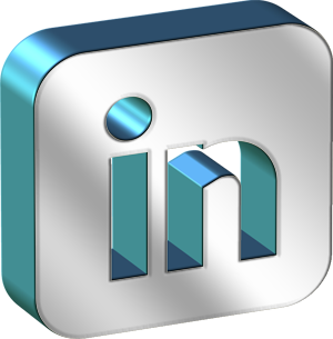 Square Chrome Linkedin Icon Png Clipart Image   Iconbug Com