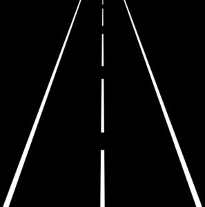 Street Lines Clip Art