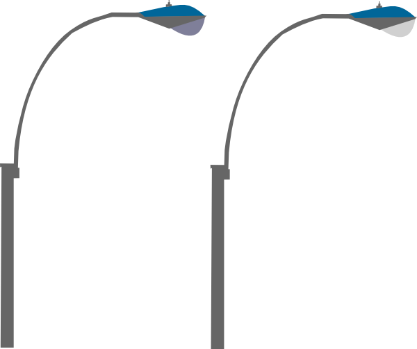 Street Lights Clip Art At Clker Com   Vector Clip Art Online Royalty