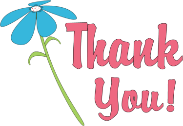 Thank You Clipart Thank You Flower Png
