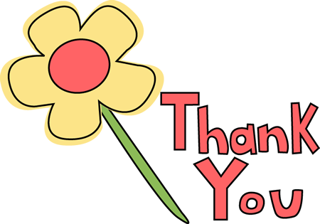 Thank You Flower Image   Thank You Flower Clip Art