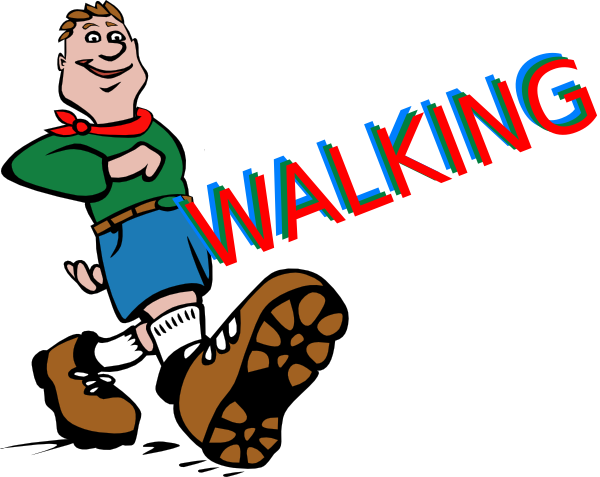 Walking Clip Art At Clker Com   Vector Clip Art Online Royalty Free