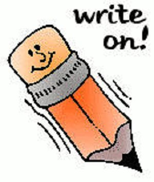 Clip Art Clipart Writing writing cartoon clipart kid 2 jpg