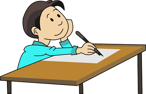 Writing Essay Clipart
