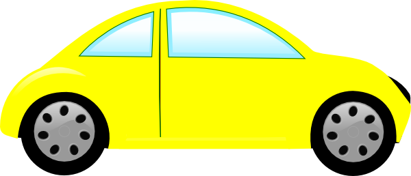 Yellow Car Bug Car Clip Art At Clker Com   Vector Clip Art Online