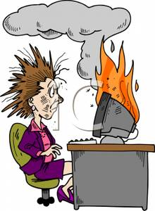 Going Crazy At Work Clipart - Clipart Suggest