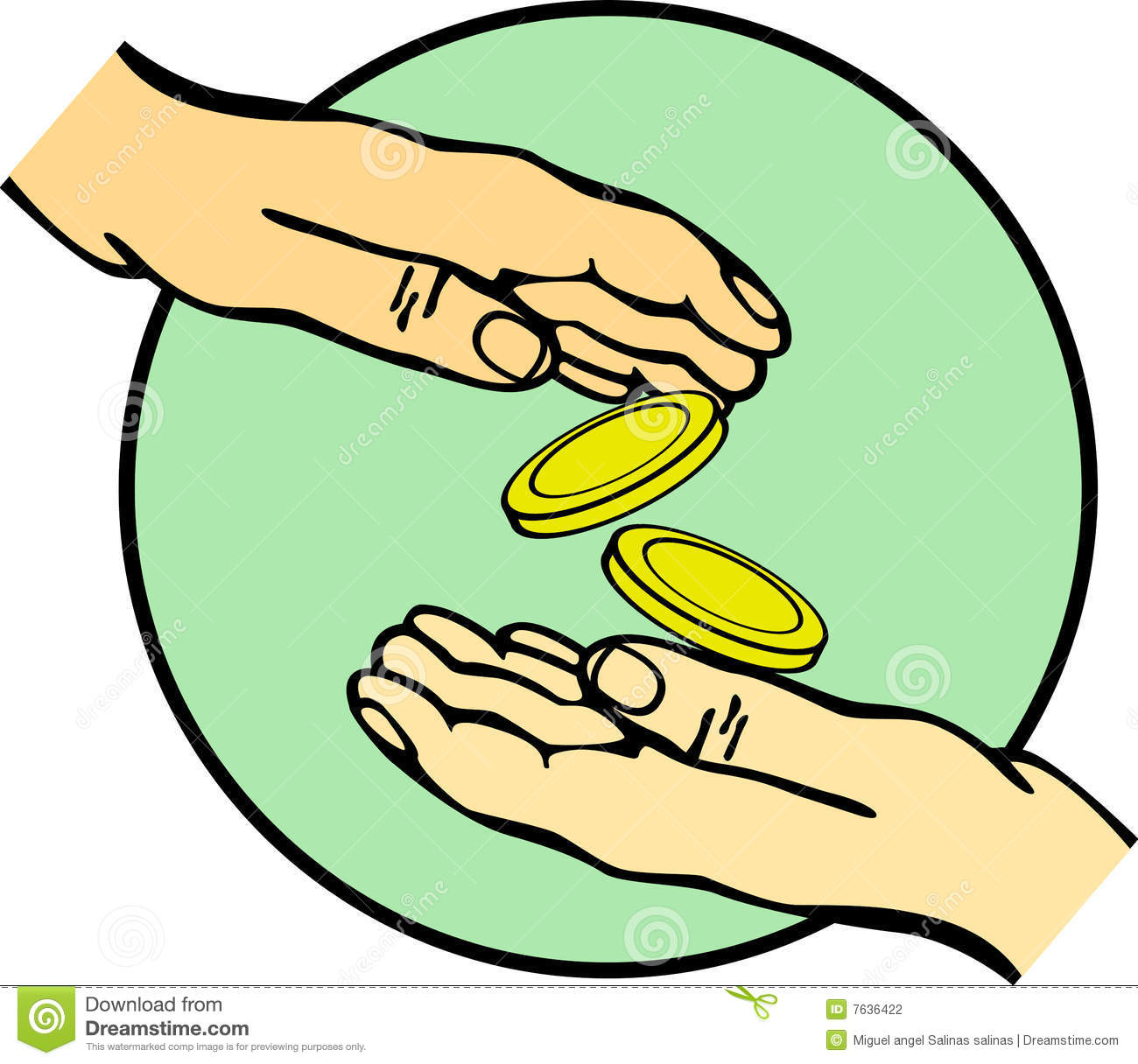 Poor Giving Money Clipart - Clipart Suggest