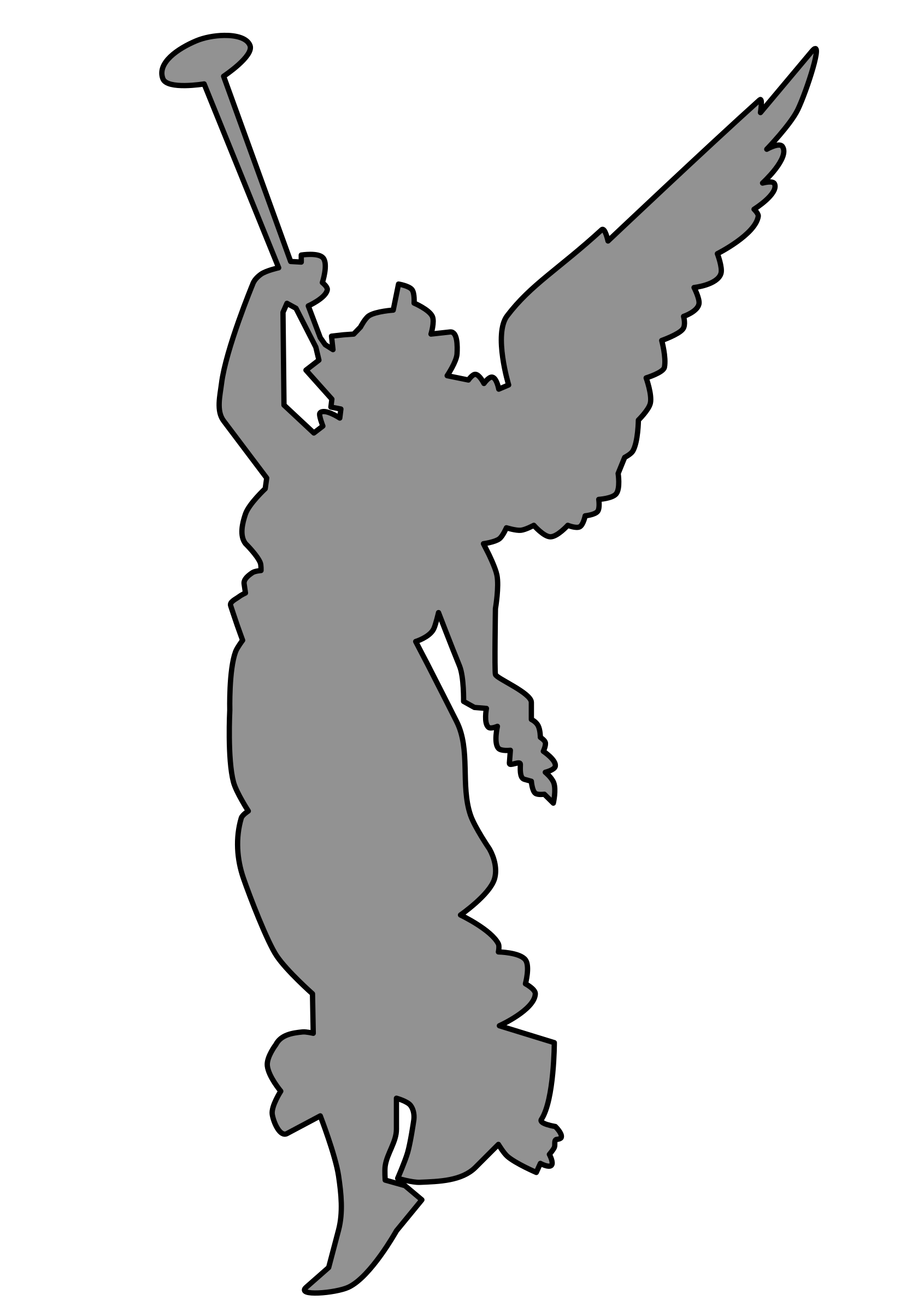 Angel With Trumpet Clipart - Clipart Kid