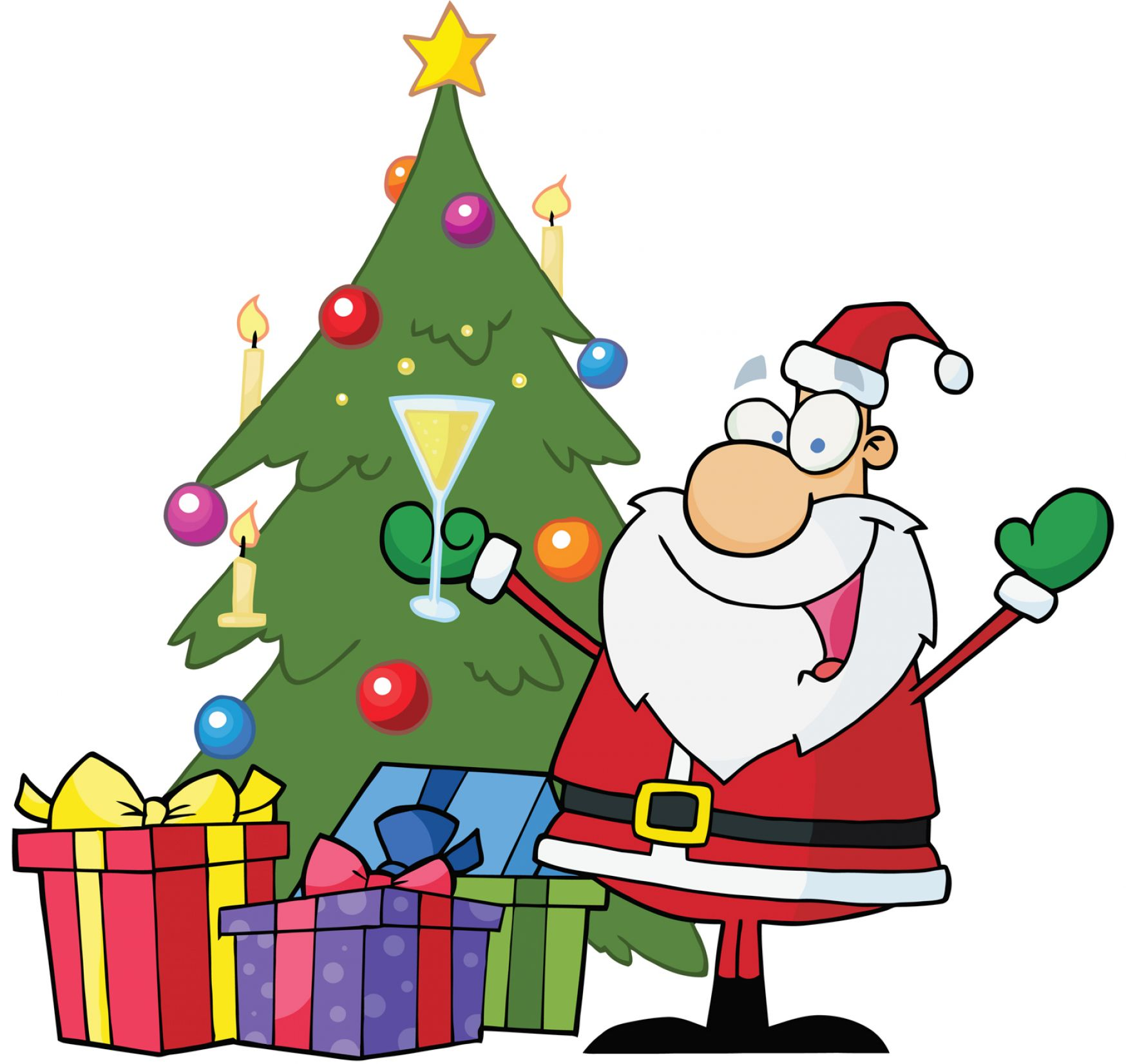 Moving Animated Christmas Clipart