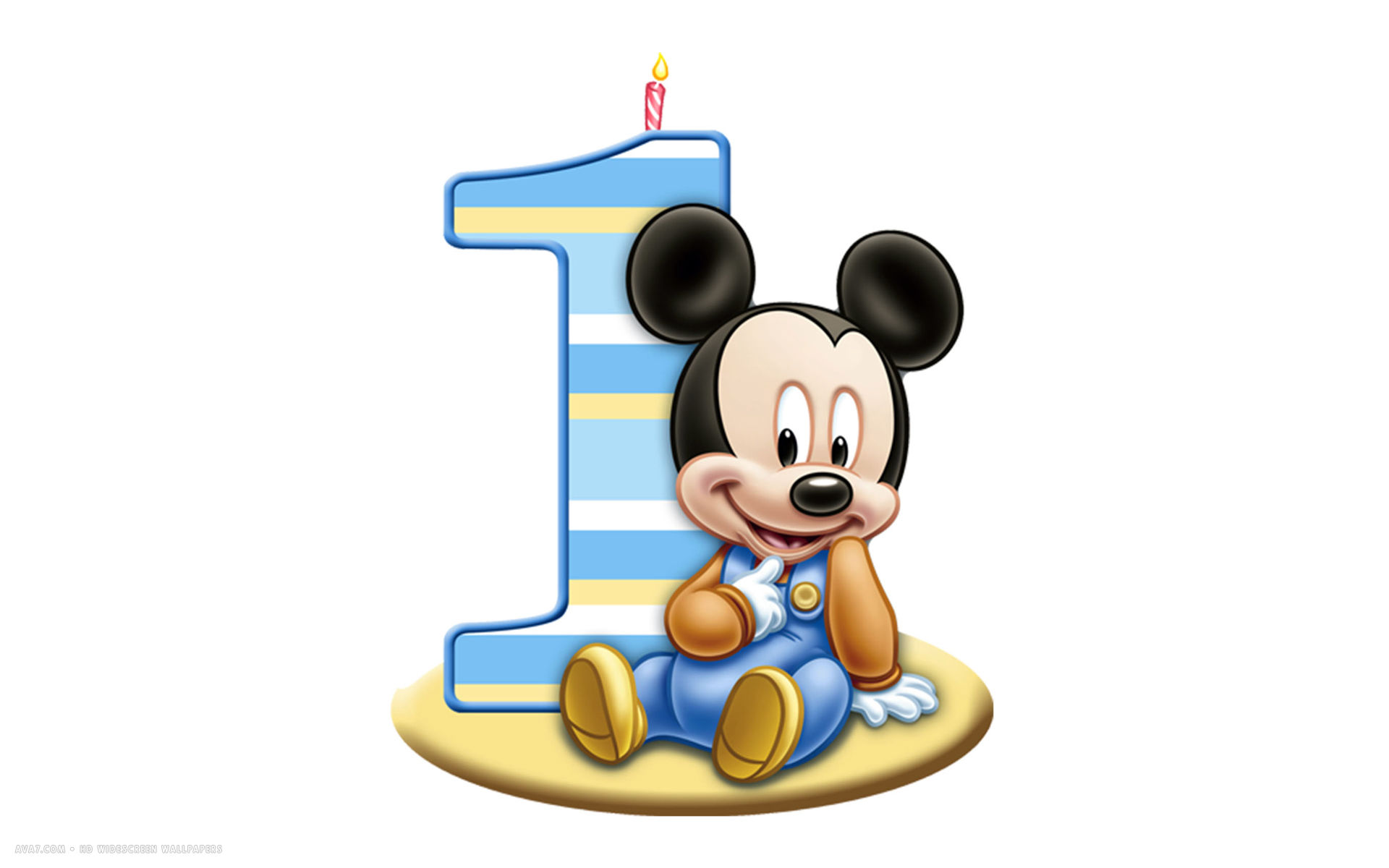 Baby Mickey Mouse 1st Birthday Clip Art Clipart Panda Free Clipart