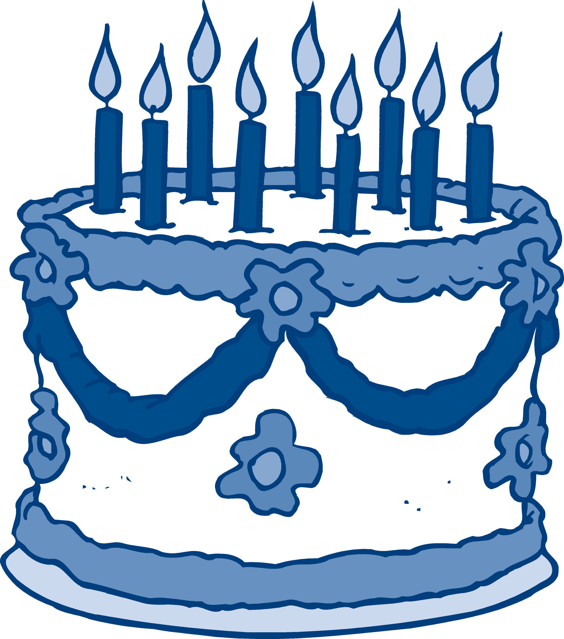 Birthday Cake Art Gallery : Blue Birthday Cake Clipart - Clipart Suggest