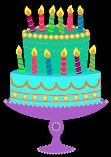 Blue Birthday Cake Clipart - Clipart Kid