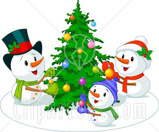 Christmas Snowman Clipart Animated Snowman Clipart