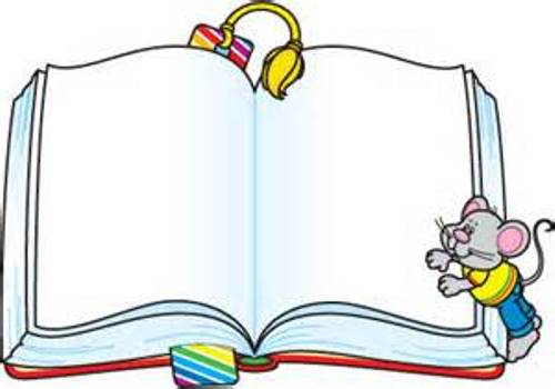 Clip Art Book Border Clipart - Clipart Kid