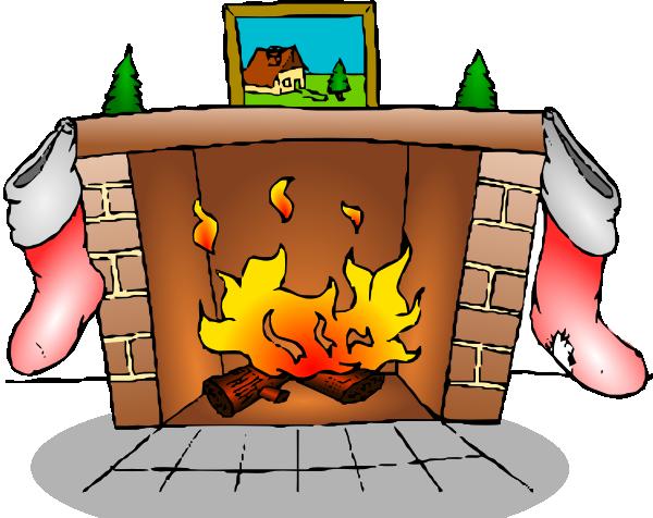 Fireplace Clip Art Animation