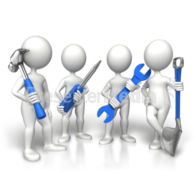 Group Construction Workers   Presentation Clipart   Great Clipart For