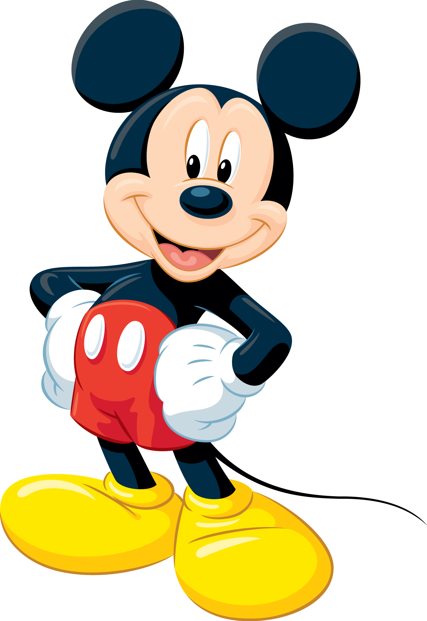 Mickey Mouse Clubhouse Characters Mickey Mouse 2 3  Png
