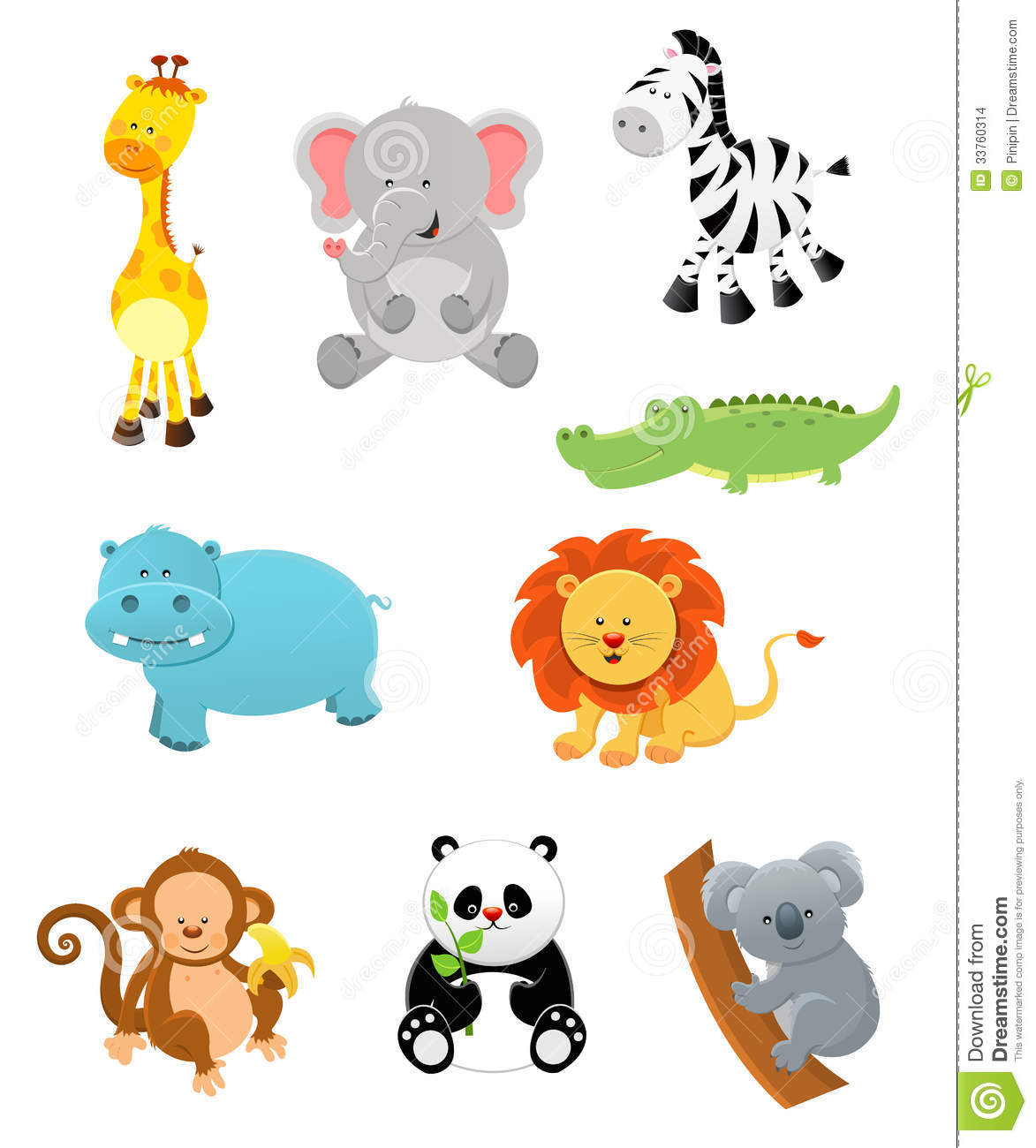 Image Gallery jungle zoo animal cartoon