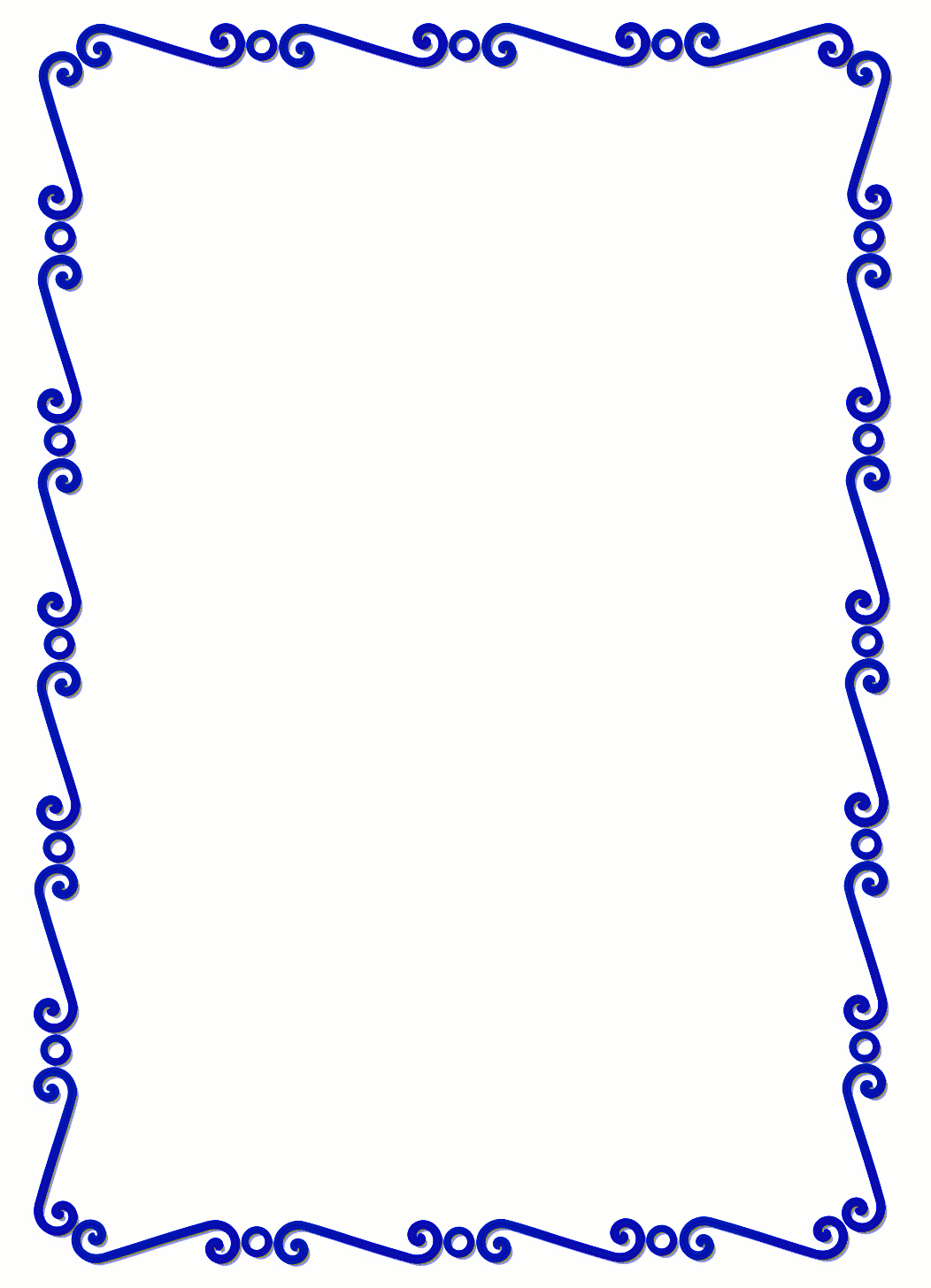Simple Line Border   Clipart Panda   Free Clipart Images