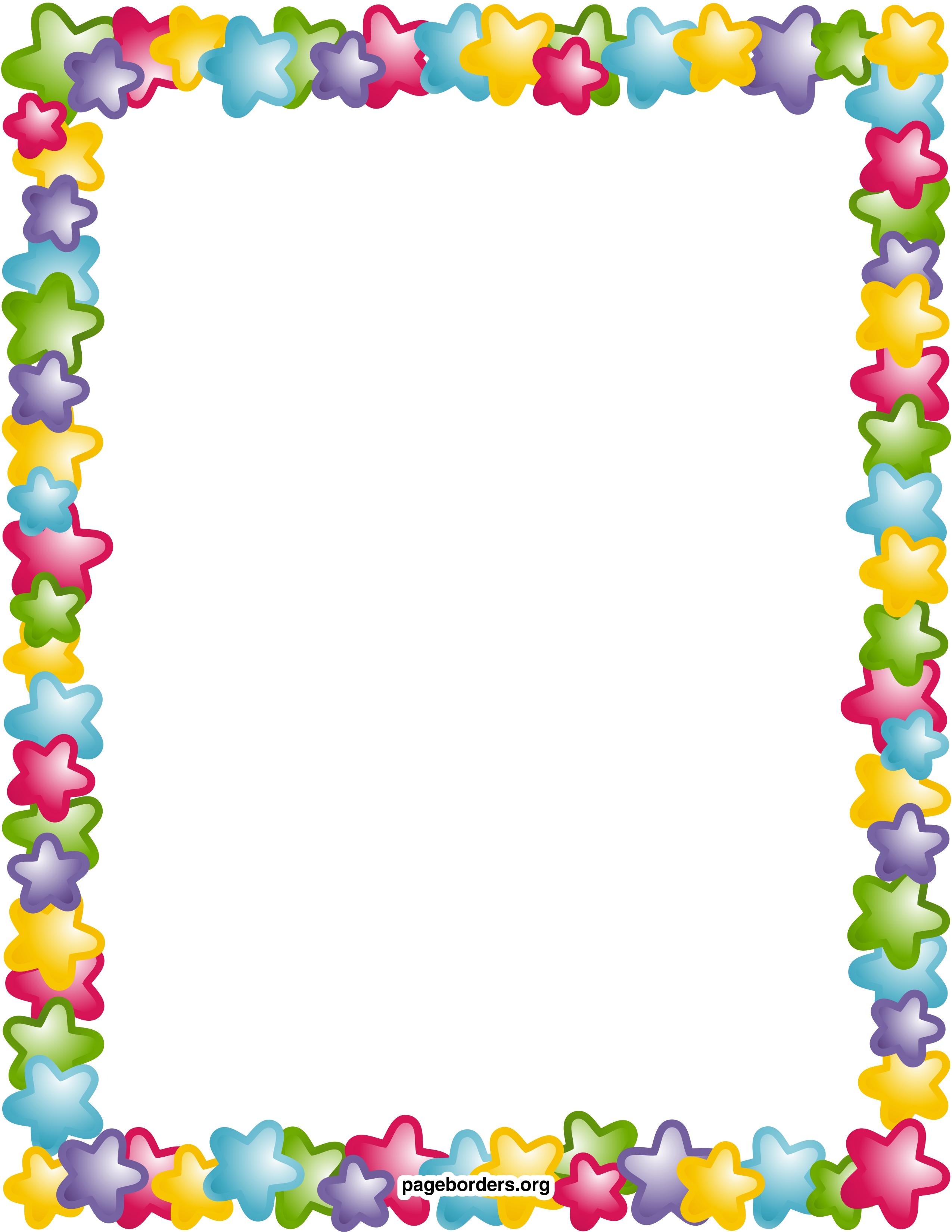 Star Border Clip Art Clipart Panda Free Clipart Images