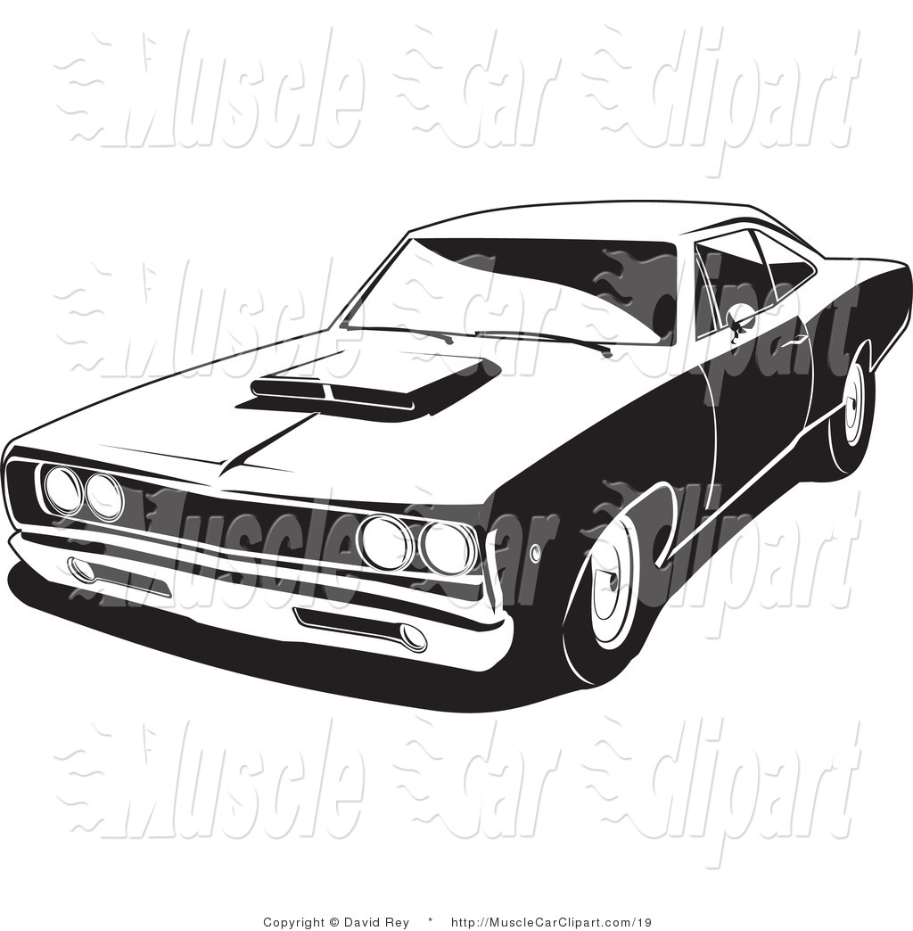 Super Bee Muscle Car Muscle Car Clip Art David Rey
