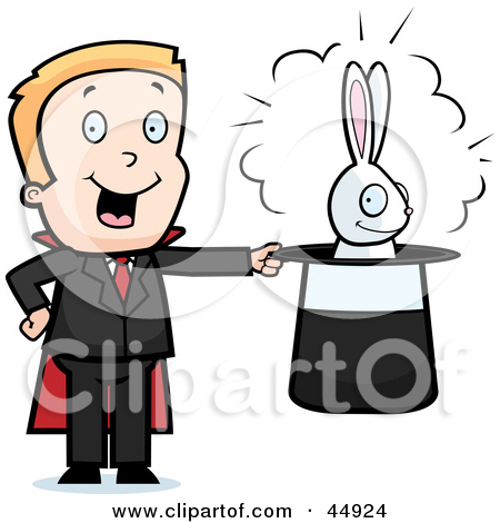 Art Print  Royalty Free  Rf  Clipart Illustration Of Magic Show Text