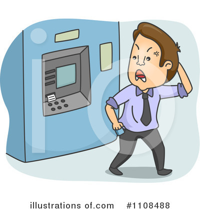 Atm Clipart  1108488 By Bnp Design Studio   Royalty Free  Rf  Stock