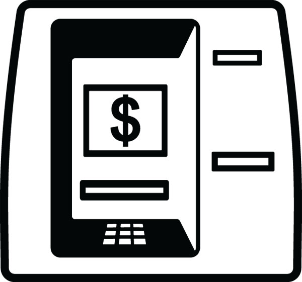 Bank Atm Machine Clip Art For Banking   Finance Products