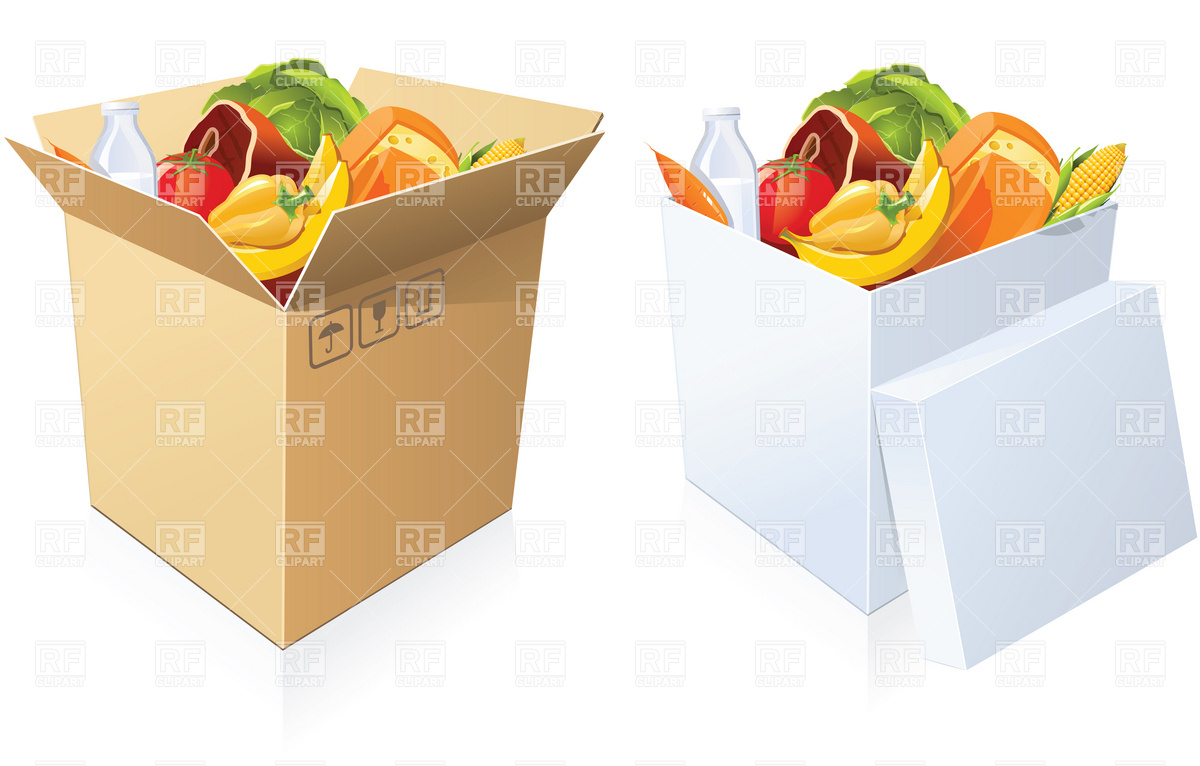 Boxed Food Clipart - Clipart Suggest