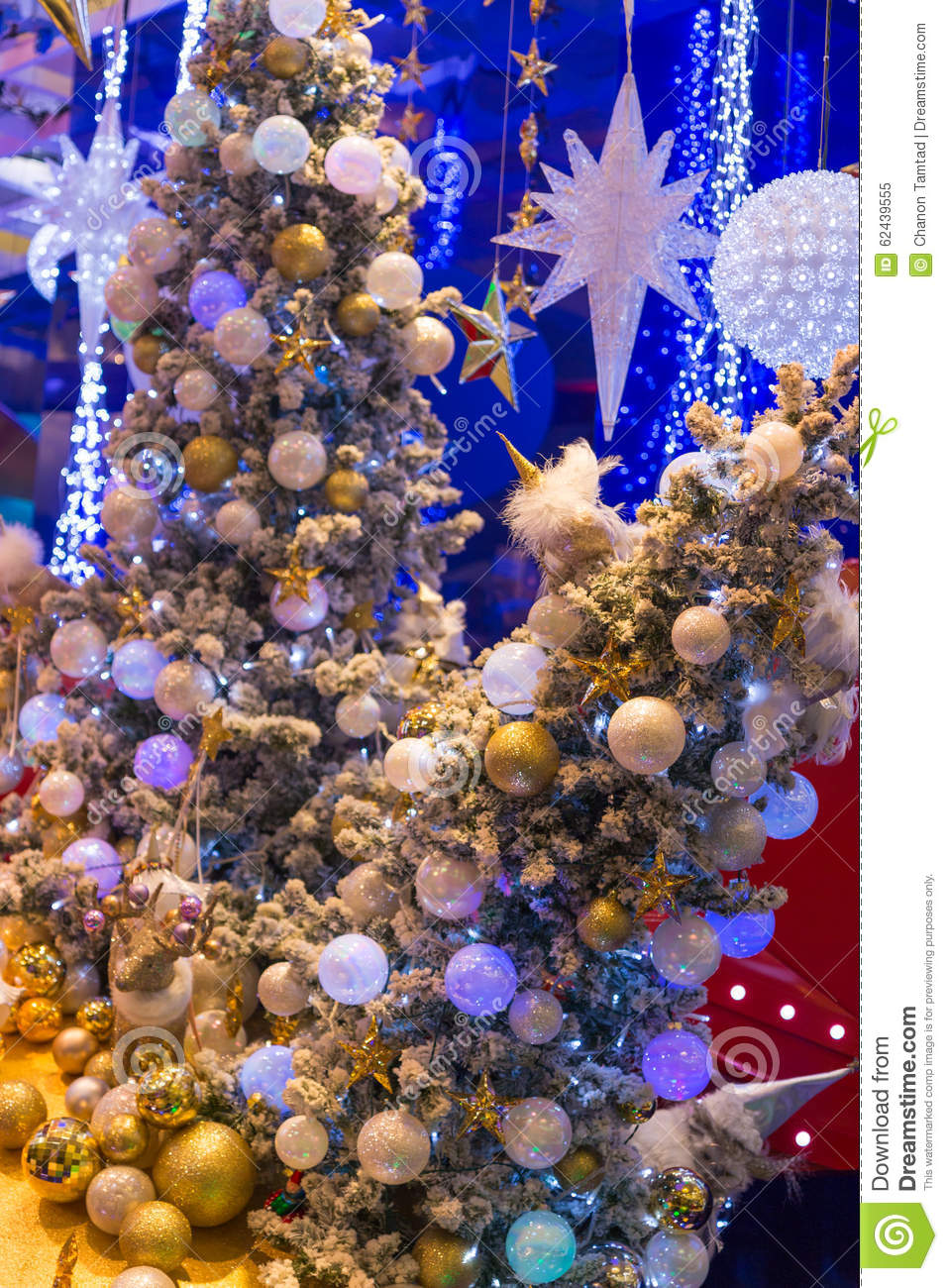 Christmas Holiday Blinking Abstract Background  Stock Photo   Image