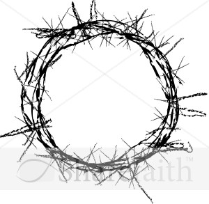 Crown Of Thorns   Good Friday Clipart