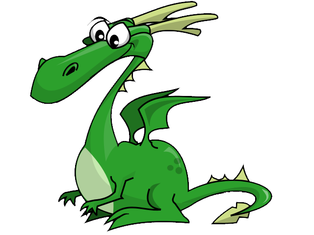 Cute Dragon Clipart - Clipart Kid